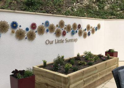 Suntrap Built Up Letters