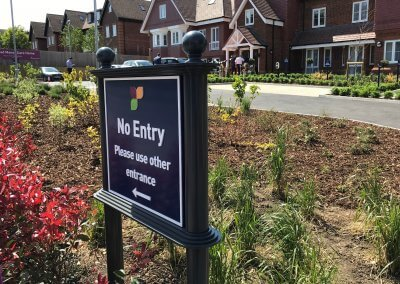 Care home external sign