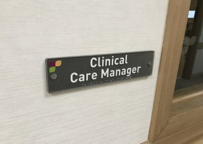 Clinical Care Manager sign