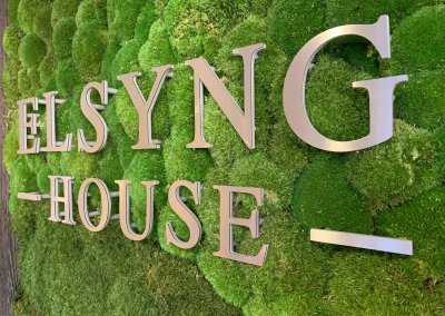 3D STAINLESS LETTERS FOR RECEPTION