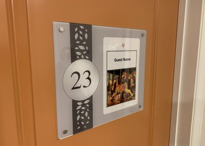 DEMENTIA DOOR NUMBER HOLDER