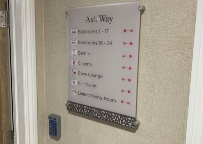 DEMENTIA WAY FINDING SIGNS
