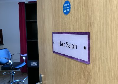 Care Home Signage - Hair Salon