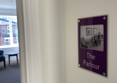 Care Home Signage - Dementia Door
