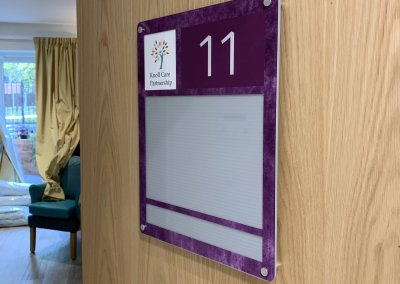 Care Home Sign - Nameplate