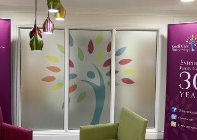 Care Home Signage - Window Graphics