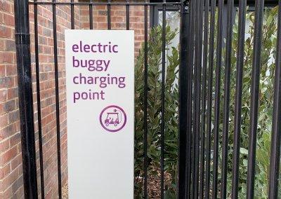 Care Home Car park signsge