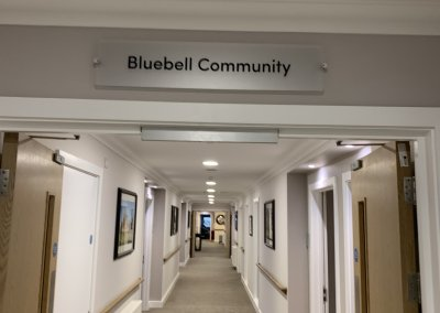 Care home Community sign