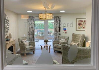 Care home Window graphics